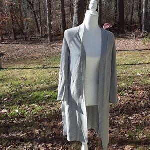 Grey wool duster 0384c